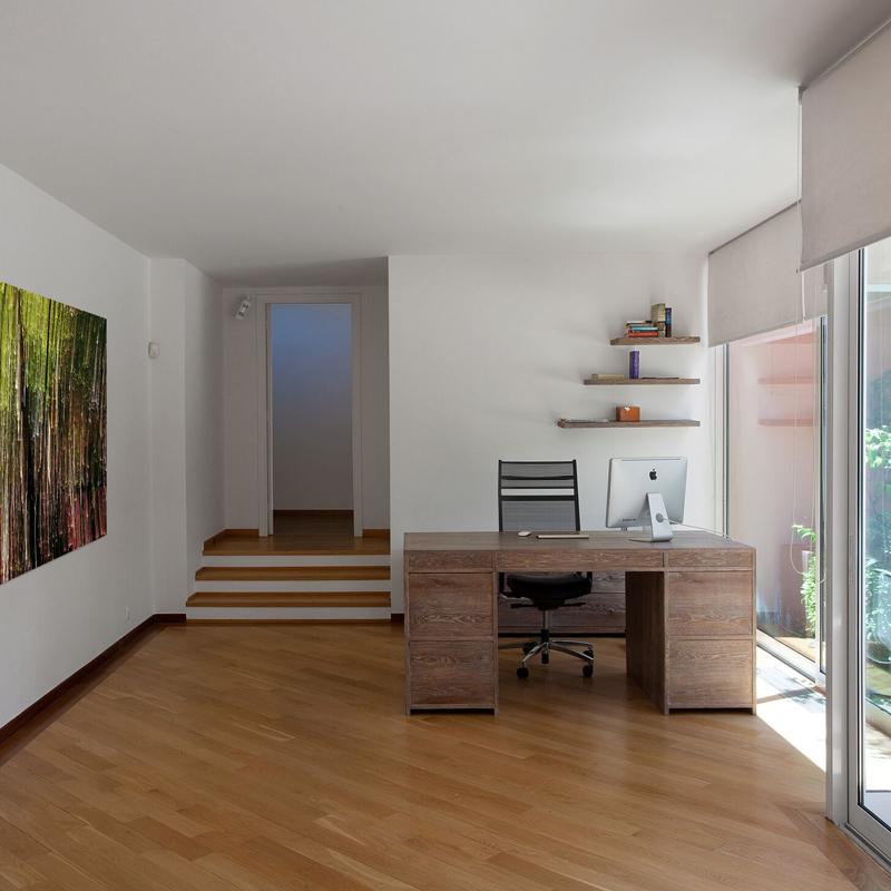 Home study design - The Simply Elegant Villa