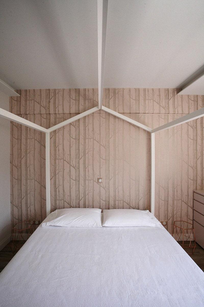 Modern bedroom design - the gem apartment