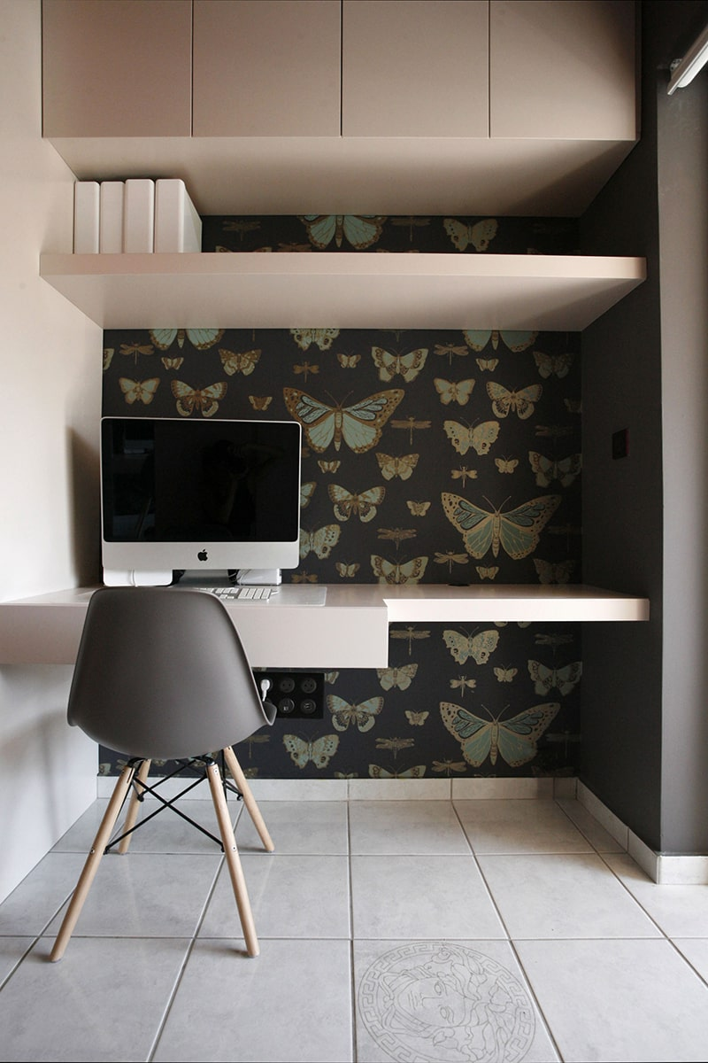 Home office design - the gem apartment