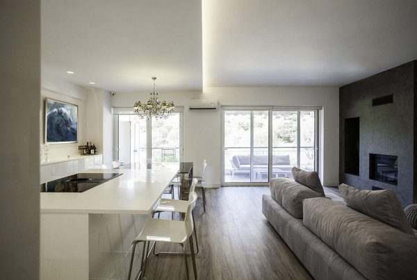 Open kitchen design - the gem apartment