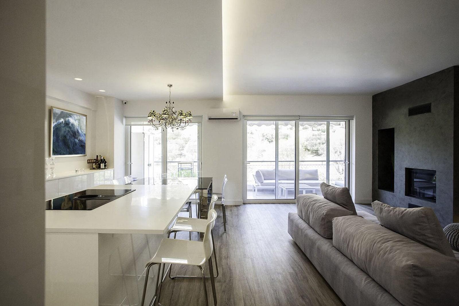 Open kitchen design - the gem apartment