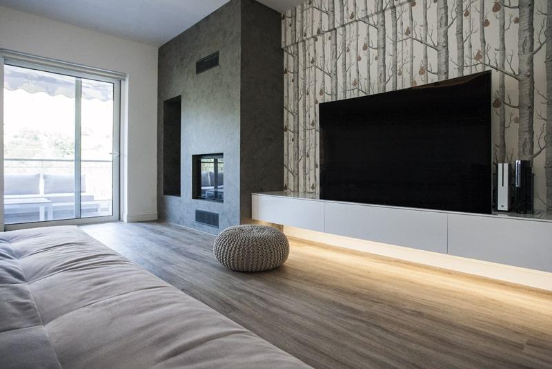 Bespoke living room - the gem apartment